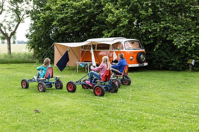 Campingurlaub macht Spaß
