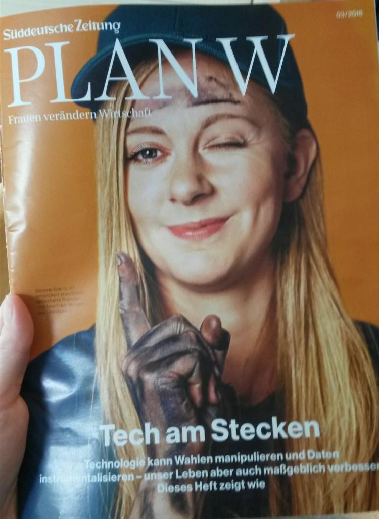 Süddeutsche Zeitung bringt Plan W raus