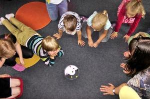 Kindergarten wie achtstunden Tag