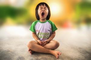 Wenn Kinder müde werden